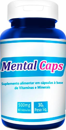 Mental Caps - A Pílula da Mente - Pontal Cursos
